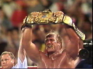 Hogan Holds The World Title
