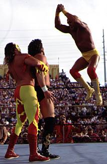 Hogan Goes For The Double Axe Handle On Debiase