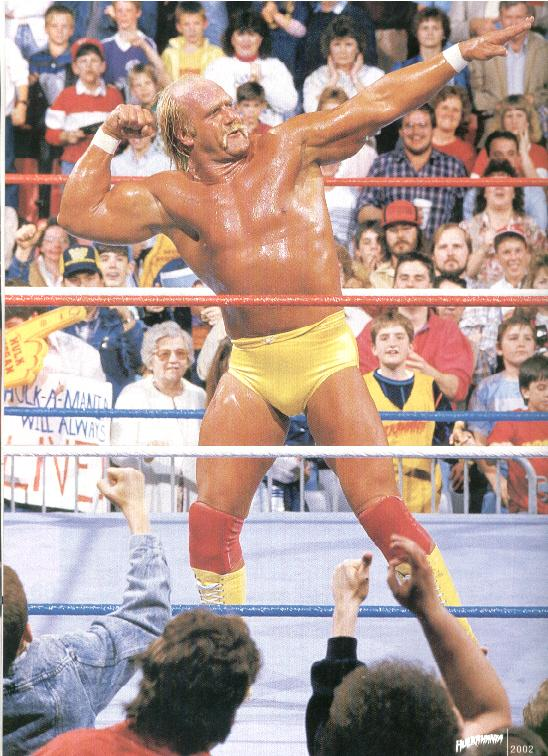 Hogan Pleases The Crowd