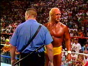 Hulk Hogan And The Boss Man