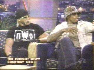 Hogan And Rodman On Jay Leno