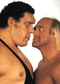 Hulk Hogan Faces Andre The Giant