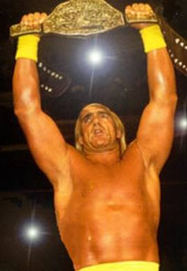 Hogan Holds The WCW World Title