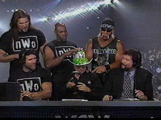 The NWO Invades The Announce Table