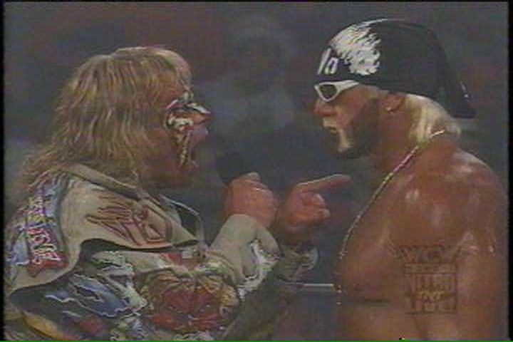 Hogan Faces Off With The Warrior